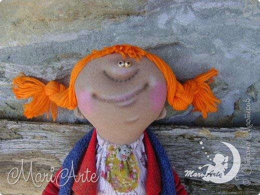 Кукла сшита по мотивам работ Татьяны Козыревой фото 1
