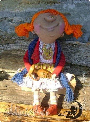 Кукла сшита по мотивам работ Татьяны Козыревой фото 7
