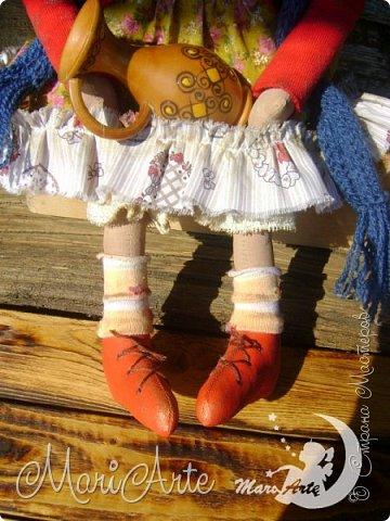 Кукла сшита по мотивам работ Татьяны Козыревой фото 8