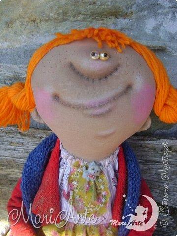Кукла сшита по мотивам работ Татьяны Козыревой фото 9