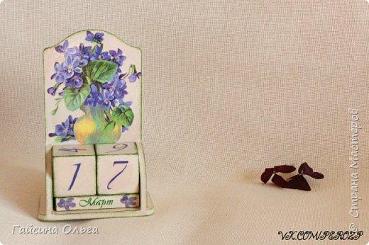 Мой весенний календарь фото 1