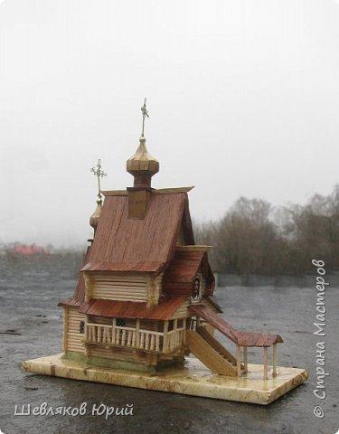 До пожара 2000 г. у церквушки было другое название: Часовня Сергия Радонежского фото 1