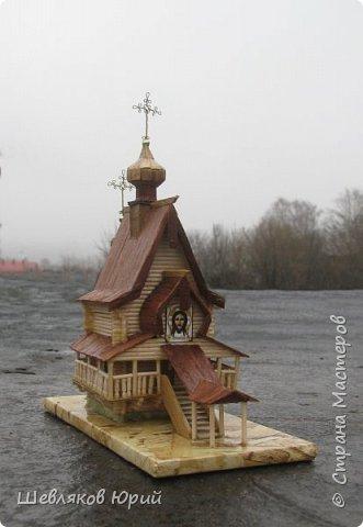 До пожара 2000 г. у церквушки было другое название: Часовня Сергия Радонежского фото 4