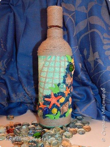 Декор бутылки. фото 1