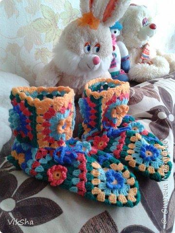 Тапочки для Снегурочки фото 6