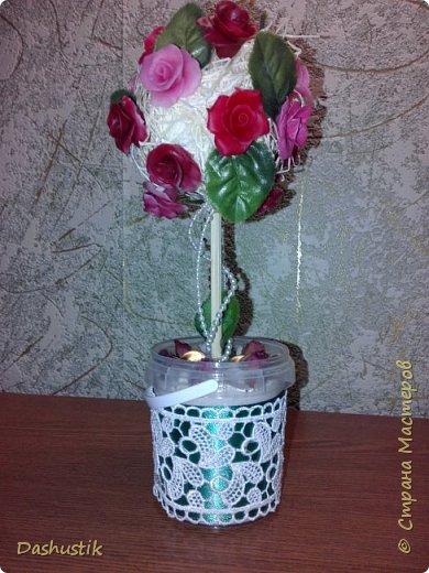 Сначала была просто симпатичная вазочка. Ну вот и ей нашлось достойное применение как мне кажется фото 3