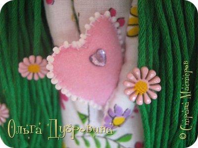 Давно хотела сделать куклу с зелёными волосами. Сделала))) фото 1