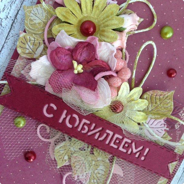 """В последнее время полюбила Fleur Базовую шебби-шик:), но тут кусочки еще из коллекции """"наша свадьба"""", лист """"в саду"""" Вот пара конвертов из неё, красный и сиреневый. фото 14"""