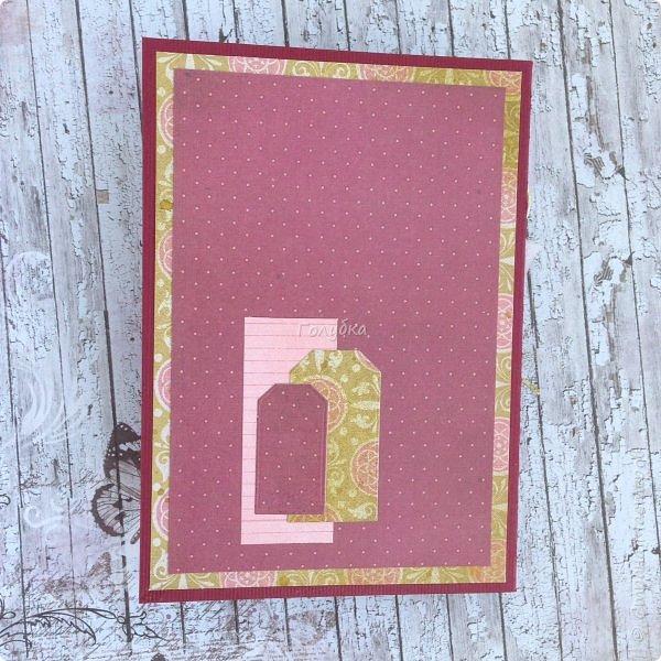 """В последнее время полюбила Fleur Базовую шебби-шик:), но тут кусочки еще из коллекции """"наша свадьба"""", лист """"в саду"""" Вот пара конвертов из неё, красный и сиреневый. фото 16"""