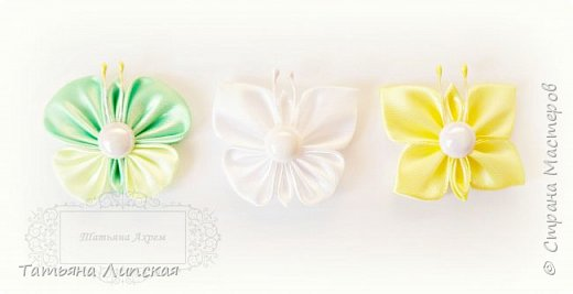 Всем привет! Я снова к вам с бабочками. На этот раз бабочки маленькие. Они просты в исполнении и смогут дополнить любые цветочные композиции, также их можно использовать для маленьких заколочек и резиночек.    Мой канал на Youtube https://www.youtube.com/channel/UCIedyb0P1_g831_GlrXeW7g фото 1