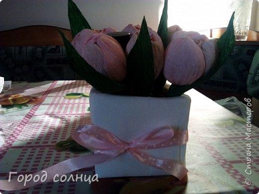Решила попробовать свои силы в свит дизайне. Подарок маме к 8 марта. Сумочку тоже делала сама фото 3