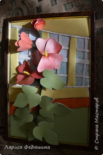 """""""Мальва на фоне школьного окна"""" фото 4"""