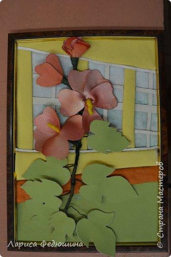 """""""Мальва на фоне школьного окна"""" фото 1"""