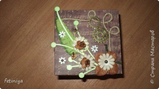 Коробочки под денежку и разные мелочи фото 8