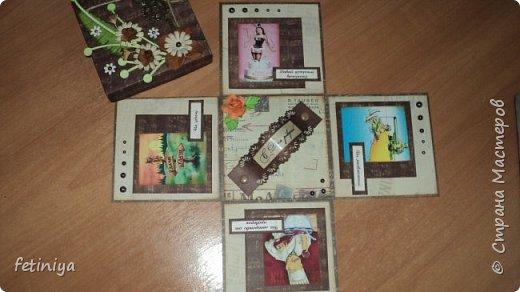 Коробочки под денежку и разные мелочи фото 9