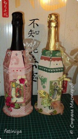 Упаковка для бутылок фото 1