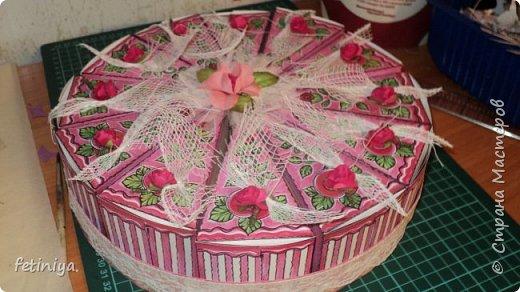 Тортик с пожеланиями фото 1