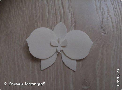 Всем привет! Сегодня я хочу вам показать, как сделать вот такую орхидею в баночке. Она может послужить подарком или украшением для квартиры. фото 6