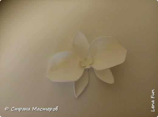 Всем привет! Сегодня я хочу вам показать, как сделать вот такую орхидею в баночке. Она может послужить подарком или украшением для квартиры. фото 11