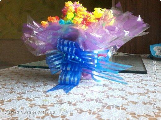 букет цветов из резинок фото 2