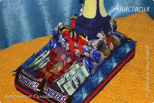 Вот такая Дрель с конфетами получилась из фантазии))) Единственная работа в одном экземпляре и похожих даже нигде нет))) фото 3