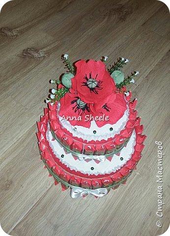 Маковый тортик шкатулка фото 2