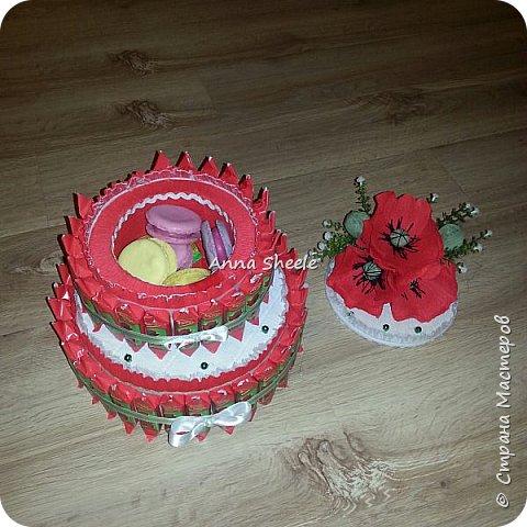 Маковый тортик шкатулка фото 3