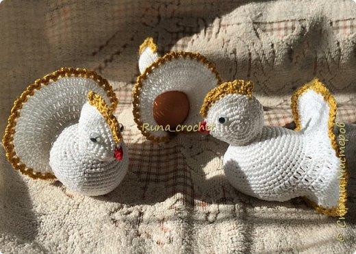 Для вязания Вам потребуется пряжа Сосо VitaCotton белого цвета, крючок 1,5 и пряжа для отделки.  фото 1