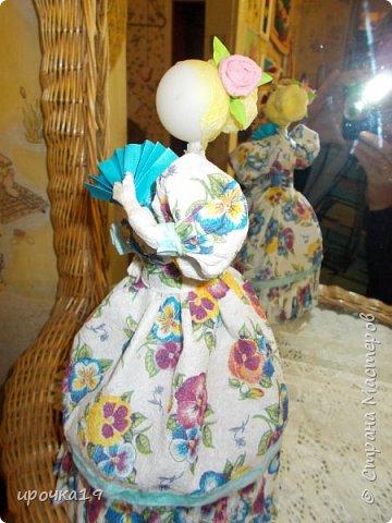 Это моя первая куколка. Лицо нарисовала только ей ,далее лиц не рисую - мне так больше нравится.  фото 7