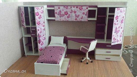 Привет всем! И снова я с игрушечной мебелью год спустя. Сегодня хочу представить мебель для девочки. Возможно кому-то понадобиться мастер-клас, потому постараюсь выложить более подробно и доступно. фото 2