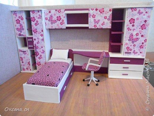 Привет всем! И снова я с игрушечной мебелью год спустя. Сегодня хочу представить мебель для девочки. Возможно кому-то понадобиться мастер-клас, потому постараюсь выложить более подробно и доступно.