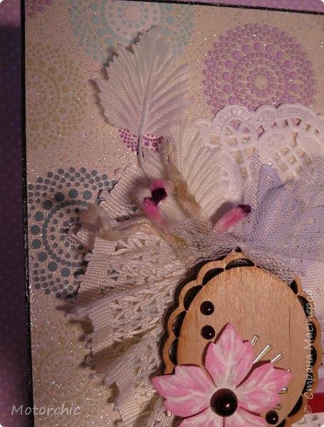 """На День Рождения подруги-рукодельницы решила ей подарить коробочку/шкатулку/сокровищницу для ее сокровищ (рукодельных или нет, - решать уже ей самой,в любом случае, для женщины шкатулка никогда лишней не будет). Разумеется, не пустую, я ее наполнила различными рукодельными """"сокровищами"""" =) фото 16"""