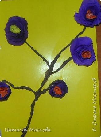 Работы четвероклассников. Открытки-сердечки к 8 марта. Цветы выполнены по идеи Татьяны Просняковой. В её блоге подробный мастер класс. фото 10