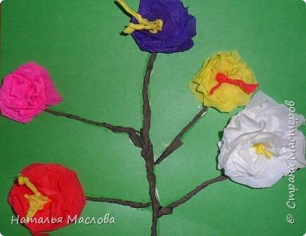 Работы четвероклассников. Открытки-сердечки к 8 марта. Цветы выполнены по идеи Татьяны Просняковой. В её блоге подробный мастер класс. фото 13