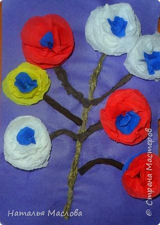 Работы четвероклассников. Открытки-сердечки к 8 марта. Цветы выполнены по идеи Татьяны Просняковой. В её блоге подробный мастер класс. фото 15