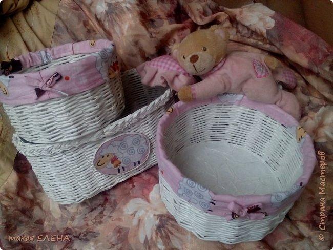 Вот такой наборчик у меня случился...розовый для девочки. фото 1