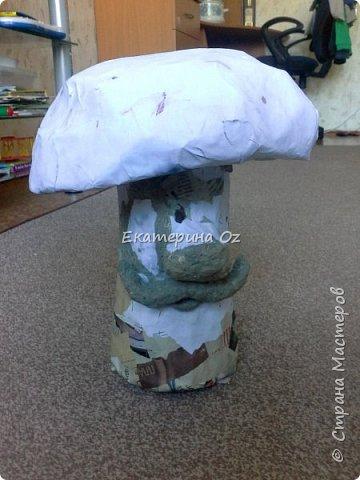 """Дорогие друзья! Живу я в Рязани! И есть у нас такая поговорка - """"В Рязани грибы с глазами! Их едят, а они глядят!"""" Вот и решила я сотворить таких чудесных глазастиков. фото 3"""