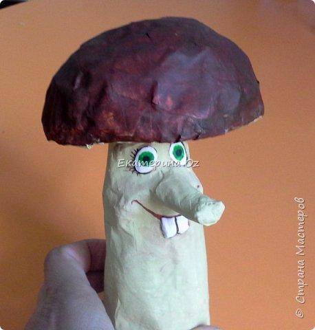 """Дорогие друзья! Живу я в Рязани! И есть у нас такая поговорка - """"В Рязани грибы с глазами! Их едят, а они глядят!"""" Вот и решила я сотворить таких чудесных глазастиков. фото 8"""