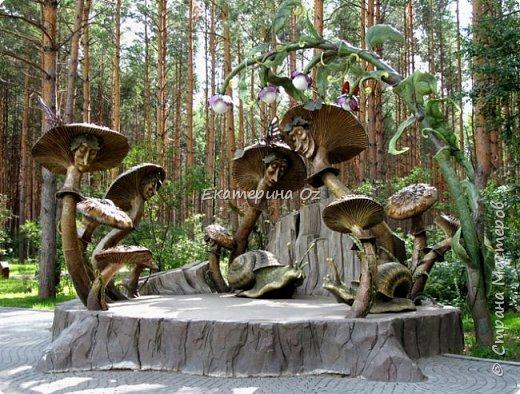 """Дорогие друзья! Живу я в Рязани! И есть у нас такая поговорка - """"В Рязани грибы с глазами! Их едят, а они глядят!"""" Вот и решила я сотворить таких чудесных глазастиков. фото 9"""