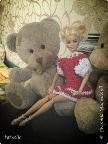 Платье крючком для моих Barbie фото 1