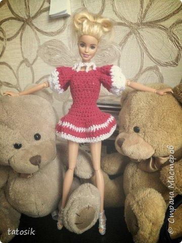 Платье крючком для моих Barbie фото 2