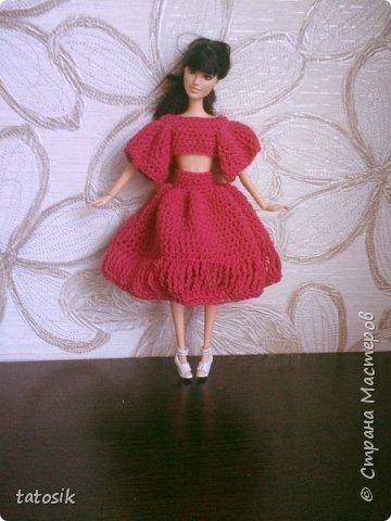 Платье крючком для моих Barbie фото 3