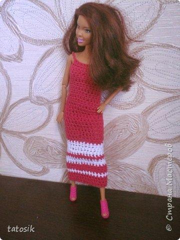 Платье крючком для моих Barbie фото 6