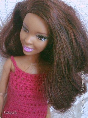 Платье крючком для моих Barbie фото 7