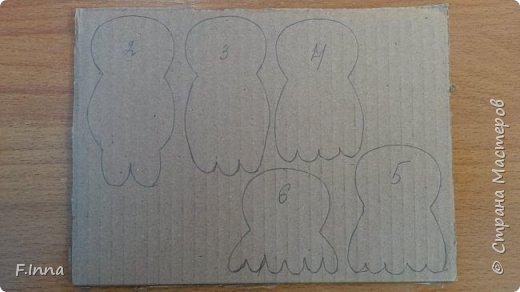 Всем привет.Хочу показать как я упростила создание своих совушек из картона.В прошлом МК   http://stranamasterov.ru/node/810681  я немного намудрила,а сейчас снова понадобилось сделать таких сов и чтобы упростить и ускорить процесс я сделала заготовки из тонкого картона,чтобы быстро их можно было обвести и всё.Ну и если кто то не видел прошлого МК,может заинтересует этот. фото 5