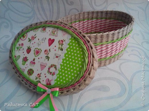Весенние, мартовские плетёночки. фото 10