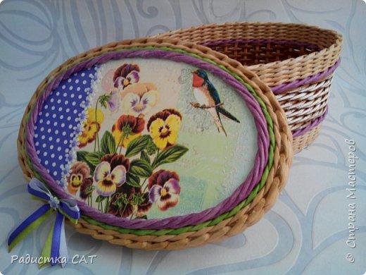 Весенние, мартовские плетёночки. фото 7