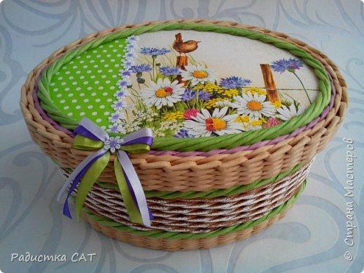 Весенние, мартовские плетёночки. фото 4