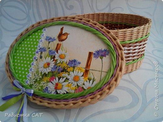 Весенние, мартовские плетёночки. фото 5