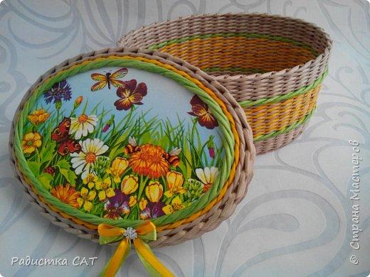 Весенние, мартовские плетёночки. фото 3